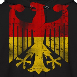 German Flag Eagle Vintage Hoodies - Men's Hoodie