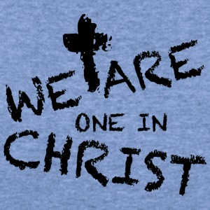 We Are One In Christ Long Sleeve Shirts - Women's Wideneck Sweatshirt