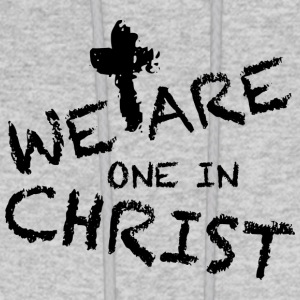 We Are One In Christ Hoodies - Men's Hoodie