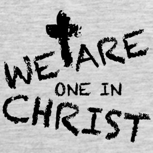 We Are One In Christ Tank Tops - Men's Premium Tank