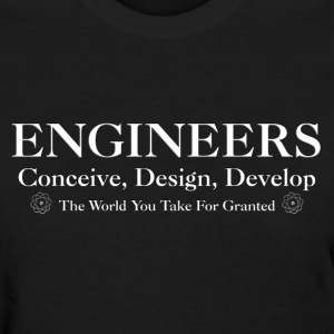 Engineers Develop Womens T-Shirt - Women's T-Shirt
