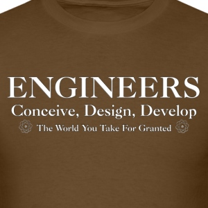 Engineers Develop Mens T-Shirt - Men's T-Shirt