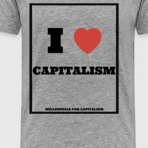 I love Capitalism T-Shirts - Men's Premium T-Shirt