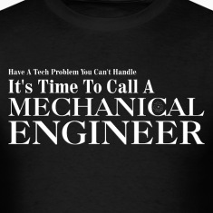 Mechanical Engineer Problem Solver Mens T-Shirt