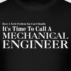 Mechanical Engineer Problem Solver Mens T-Shirt - Men's T-Shirt