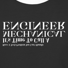 Mechanical Engineer Problem Solver Mens Baseball T