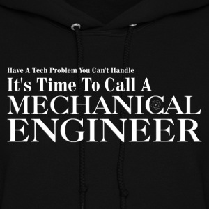 Mechanical Engineer Problem Solver Womens Hooded S - Women's Hoodie