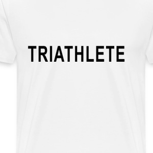 triathlete_swim_glide_stride - Men's Premium T-Shirt