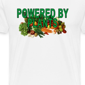 powered_by_plants - Men's Premium T-Shirt