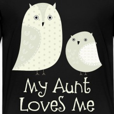 Niece Nephew Aunt Love Kids' Shirts