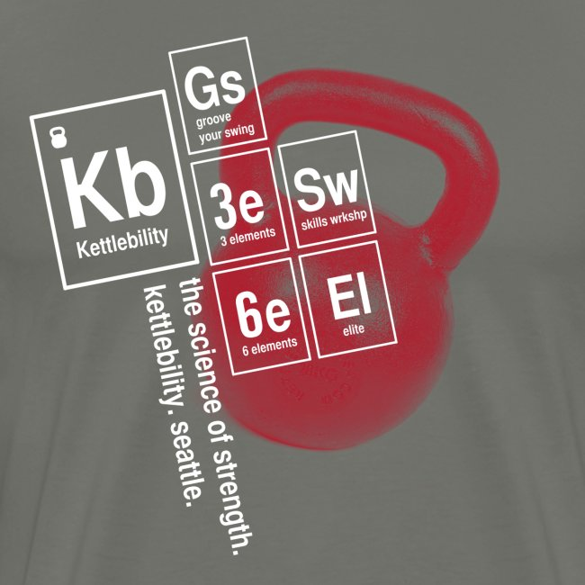 Table of Elements Tshirt  [men]