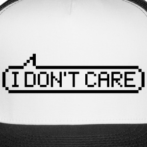 I don't care Caps - Trucker Cap