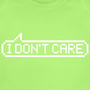I don't care Baby Bodysuits - Short Sleeve Baby Bodysuit