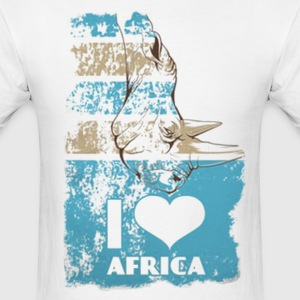 I Love Africa - Men's T-Shirt