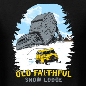 Old Faithful Snow Lodge - Men's T-Shirt