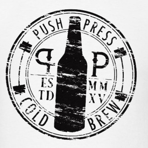 Push Press Cold Brew - Men's T-Shirt