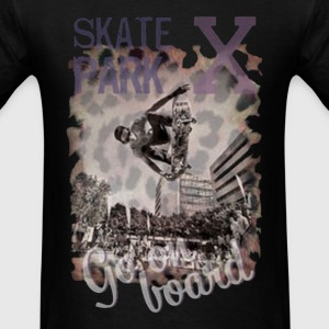 Skate park X - Go on Board - Men's T-Shirt