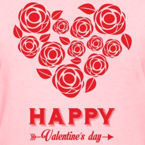 valentines day heart 14 - Women's T-Shirt