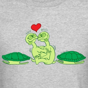 Naked Turtles Making Love Long Sleeve Shirts - Crewneck Sweatshirt
