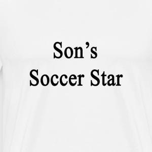 sons_soccer_star T-Shirts - Men's Premium T-Shirt