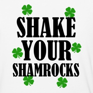 Shake Your Shamrocks funny St. Patricks day shirt - Baseball T-Shirt