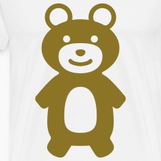 happy teddy bear T-Shirts
