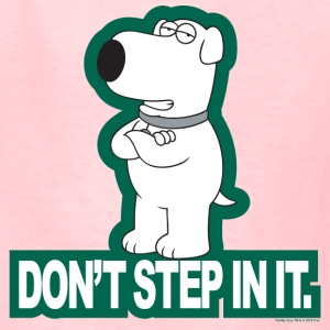 Family Guy Don't Step In It! - Kids' T-Shirt