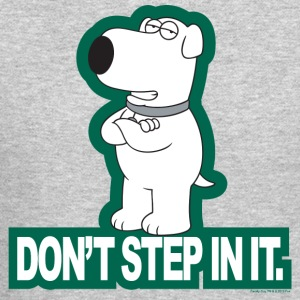 Family Guy Don't Step In It! - Crewneck Sweatshirt