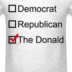 Checkbox Trump 2016 - Men's T-Shirt