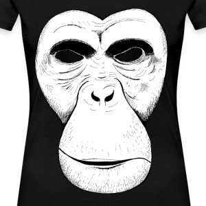 Ape Mask - Women's Premium T-Shirt