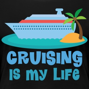 Vacation Cruise Ship Fun Women's T-Shirts - Women's Premium T-Shirt
