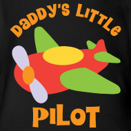 Design ~ Daddys Little Pilot Baby Shirt