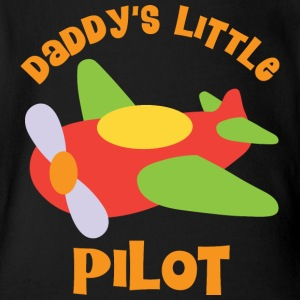 Daddy's Little Pilot Cute Baby Bodysuits - Short Sleeve Baby Bodysuit