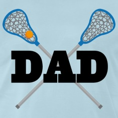 Lacrosse Dad Team Dad T-Shirts