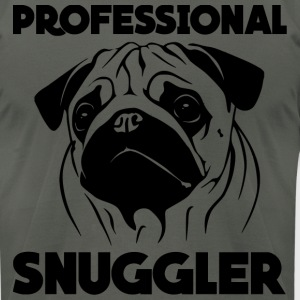 Men's Professional Snuggler - Men's T-Shirt by American Apparel