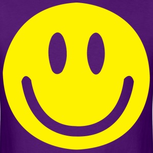 Smiley face - Men's T-Shirt
