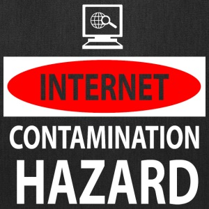 Internet – contamination hazard Bags & backpacks - Tote Bag
