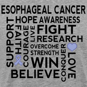 Esophageal Cancer Awareness T-Shirts - Men's Premium T-Shirt