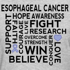 Esophageal Cancer Awareness Women's T-Shirts