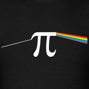 The Dark Side Of The Pi - Men's T-Shirt