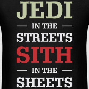 Jedi In The Streets - Men's T-Shirt