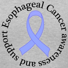 Esophageal Cancer Support Ribbon Women's T-Shirts