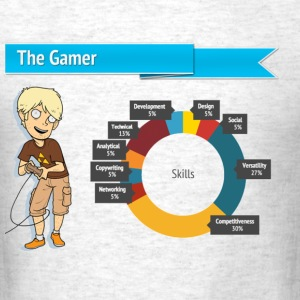 The Gamer - Men's T-Shirt