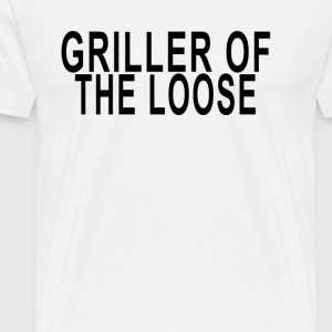 griller_on_the_loose - Men's Premium T-Shirt
