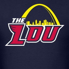 The Lou Navy Tee