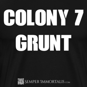 Men's Colony 7 Grunt shirt - Men's Premium T-Shirt
