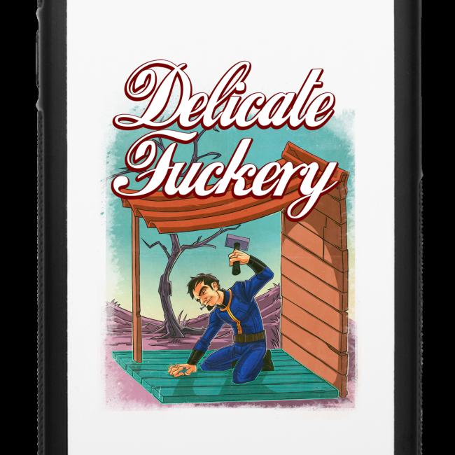Delicate Fuckery iPhone 6 Rubber Case