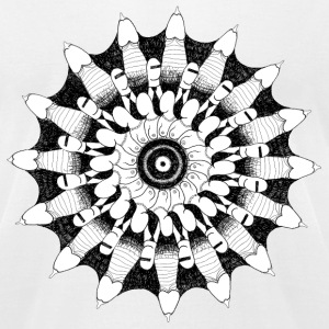 High virility mandala - Men's T-Shirt by American Apparel