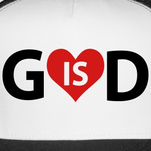 God is Love Caps - Trucker Cap