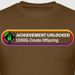 Achienement unlocked 1000g create offspring - Men's T-Shirt